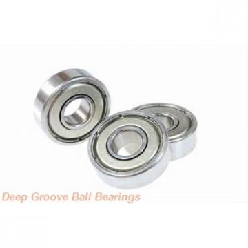 6030X1M Deep groove ball bearings