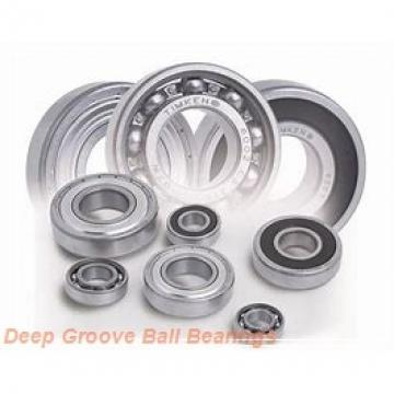 619/1600F1 Deep groove ball bearings