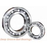 61964 Deep groove ball bearings